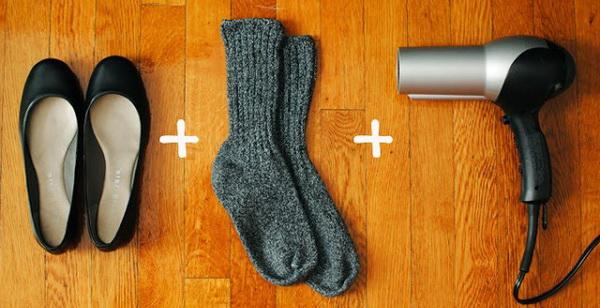 Как растянуть замшевую обувь в домашних условиях — разносить туфли из замши, которые жмут
