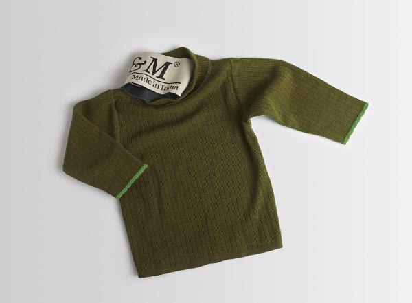 Сильно севший шерстяной свитер. Фото с сайта www.sostav.ru