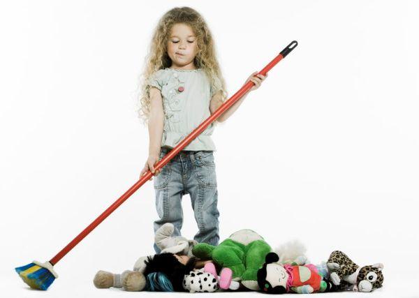 Ребенка нужно мотивировать на уборку. Фото с сайта kaliningrad-room.ru