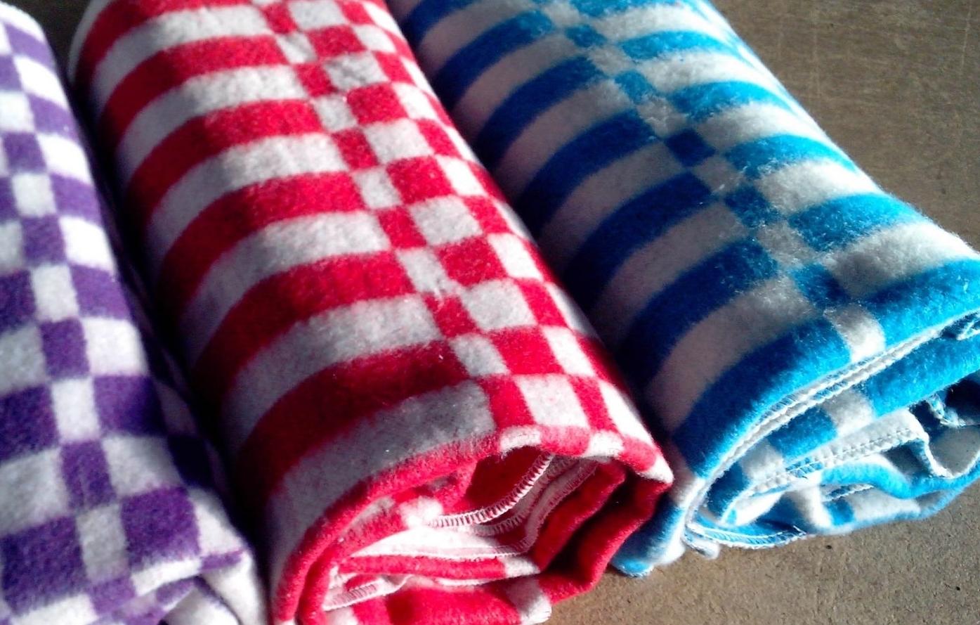 Байковые одеяла стирать несложно. Фото с сайта www.skladtorg.com