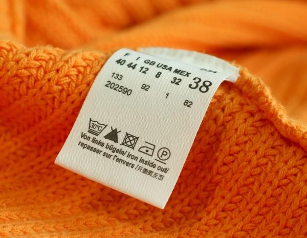 Ярлыки одежды более полезны, чем может показаться на первый взгляд. Фото с сайта www.ikirov.ru