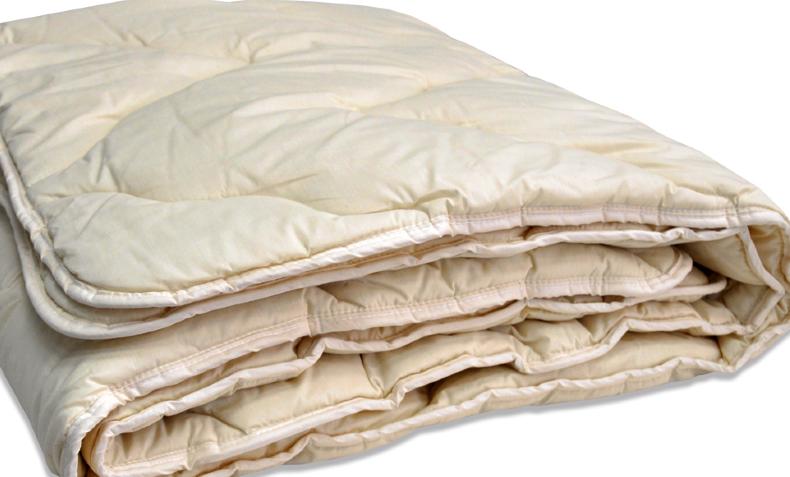 Будьте осторожны при чистке шерстяных одеял, их можно безвозвратно испортить. Фото с сайта galatex66.ru