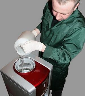 Подробная инструкция, как разобрать и почистить кулер для воды в домашних условиях