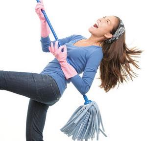 Оригинальные идеи, как превратить уборку в веселое времяпрепровождение