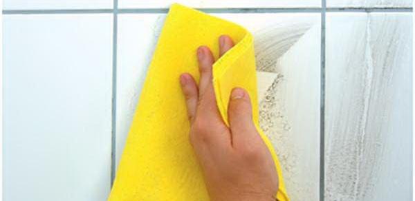 Как отмыть кафельную плитку в ванной