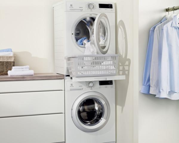Сушильная машина может вполне удачно вписаться в интерьер. Фото с сайта bt-test.ru