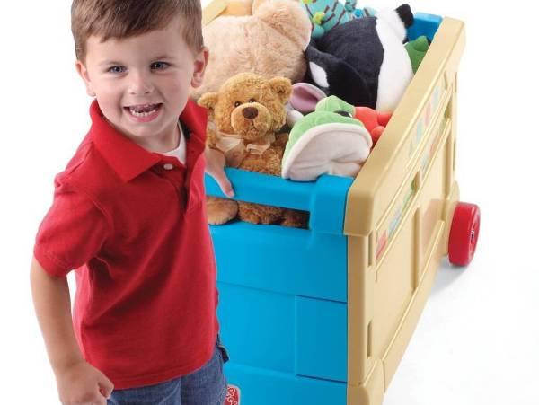 Заведите для каждого типа игрушек отдельный ящик. Фото с сайта www.inforchess.com